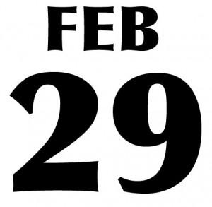 2012 leap year