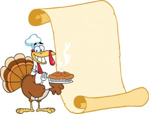 Thanksgiving Menu Along The Emerald Coast