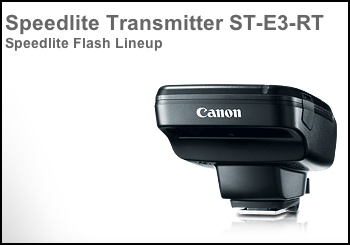 Canon Speedlite Transmitter ST E3 RT 5D Mark III HDR